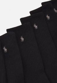Polo Ralph Lauren - BLEND CREW SOCK 6 PACK - Strumpor - black - 1