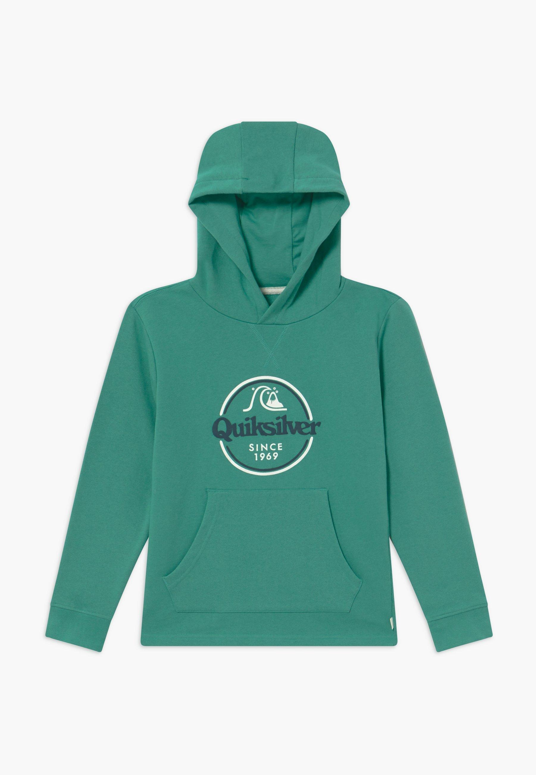 Große Förderung Quiksilver KICK FLIP ZONE HOOD YOUTH - Kapuzenpullover - sea blue | Damenbekleidung 2020