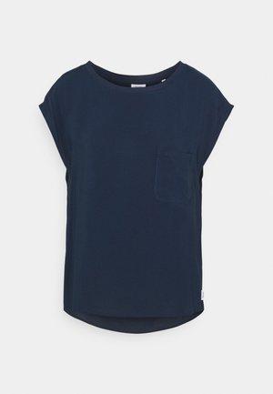 BLOUSE SHAPE - Blouse - dress blue