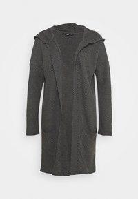 ONLY - ONLDIAMOND LONG CARDIGAN  - Cardigan - dark grey melange - 3