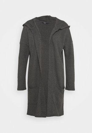 ONLDIAMOND LONG CARDIGAN  - Strickjacke - dark grey melange
