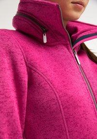 ICEBOUND - Krátký kabát - pink melange - 3