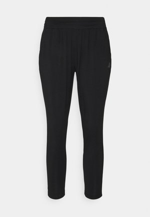 PANTS 7/8 LENGTH - Tracksuit bottoms - black