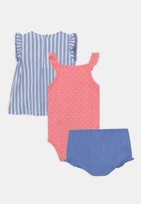 Carter's - STRIPE SET - Top - blue/light pink - 1