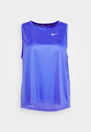 MILER TANK PLUS - Sports shirt - sapphire/reflective silver