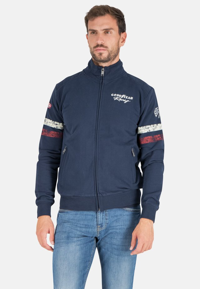 DAYTONA - Zip-up hoodie - real navy