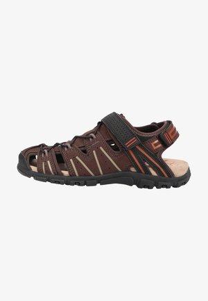 Sandały trekkingowe - dk brown black