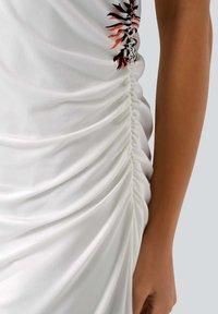 Alba Moda - Jersey dress - off-white schwarz orange - 3