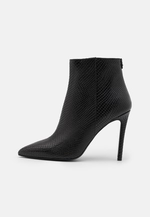 STIVALI - High heeled ankle boots - nero