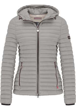 ALL-SEASON-STEPPJACKE FRIDAY V MIT TAILLIERTER PASSFORM - Down jacket - sterling grey