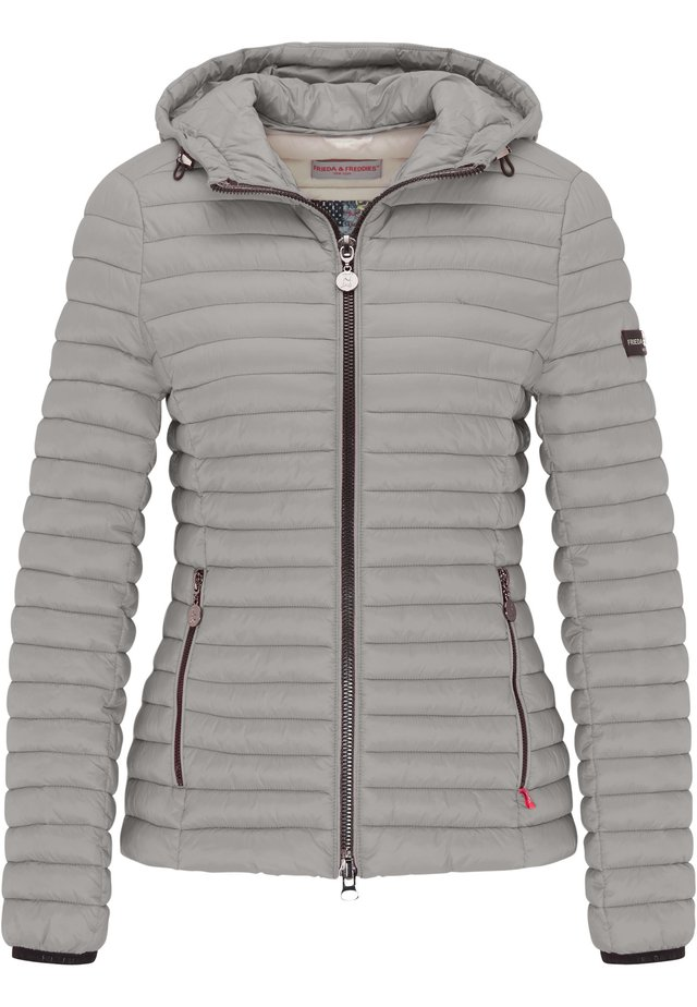 ALL-SEASON-STEPPJACKE FRIDAY V MIT TAILLIERTER PASSFORM - Untuvatakki - sterling grey