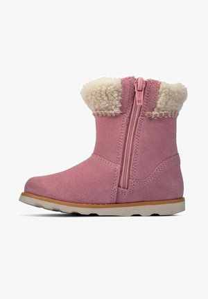 CROWN LOOP  - Bottes de neige - pink suede