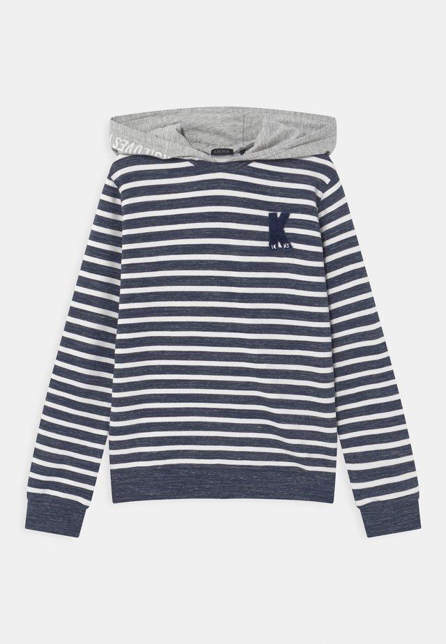 CAPUCHE - Sweatshirt - navy/blanc cassé
