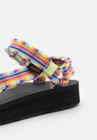 Teva - MIDFORM FRAY - Sandales de randonnée - frazier black/multicolor - 5