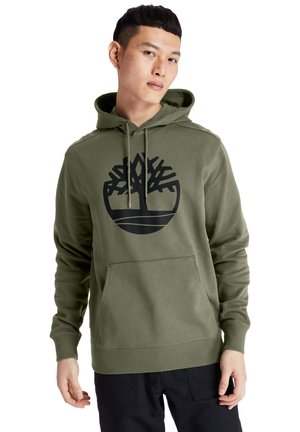 Hoodie - grape leaf/black