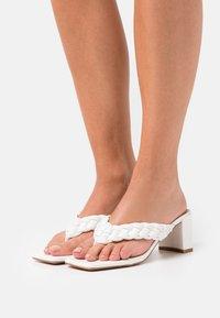 RAID - MARLEIGH - T-bar sandals - white - 0