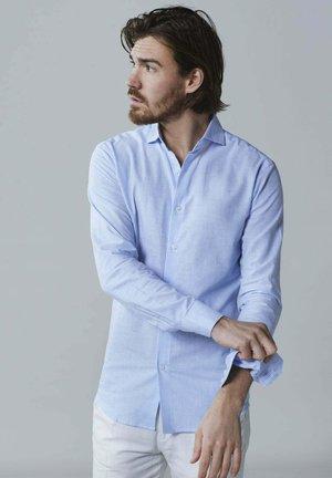 Overhemd - light blue striped