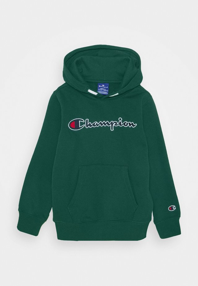 ROCHESTER LOGO HOODED  - Luvtröja - dark green