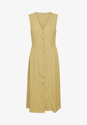 DANIELLA  - Korte jurk - raffia yellow