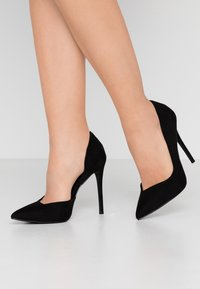 Head over Heels by Dune - CAPRIS - High heels - black - 0