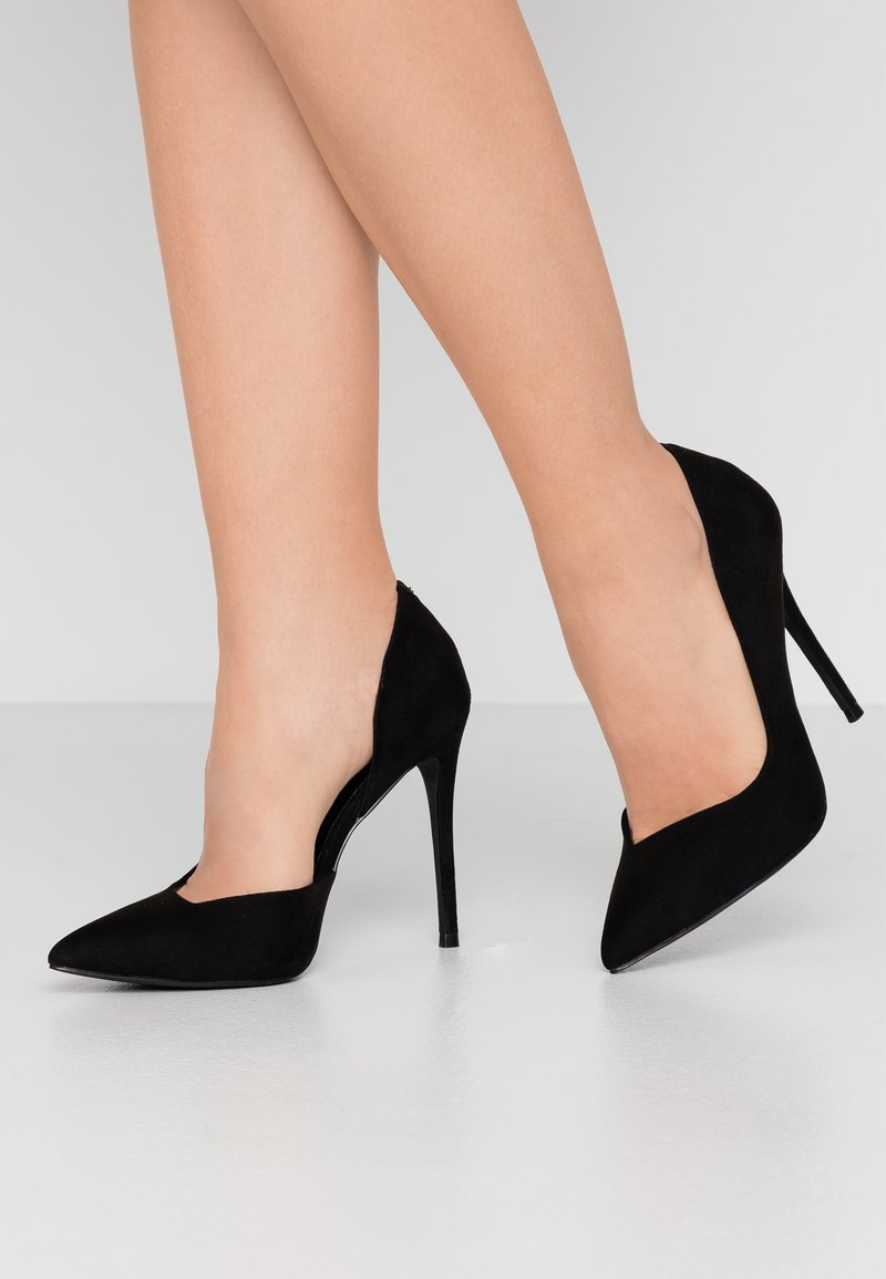 Head over Heels by Dune - CAPRIS - High heels - black