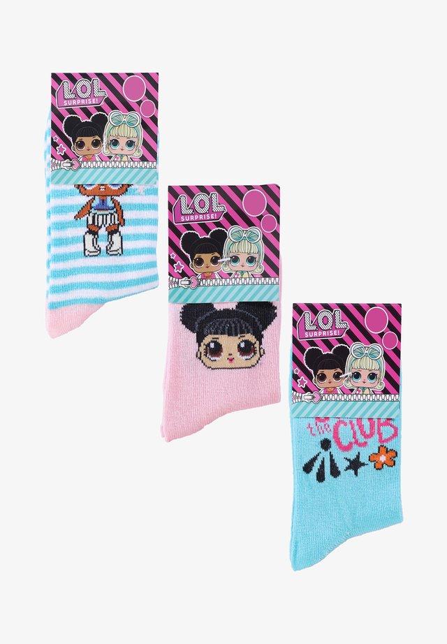 3 PACK - Socks - mehrfarbig