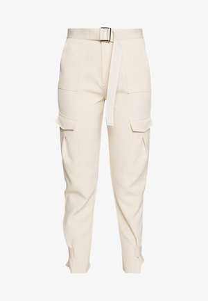 SKUNK - Cargo trousers - ecru