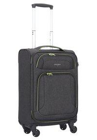 Hardware - AIRSTREAM  - Wheeled suitcase - antracite/lemon - 3