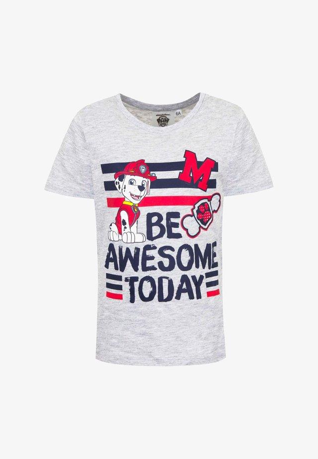 MARSHALL - Print T-shirt - grau