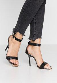 River Island - High heeled sandals - black - 0