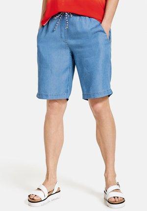 Shorts - blau mit use