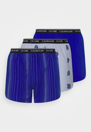 SLIM 3 PACK - Boxer shorts - blue
