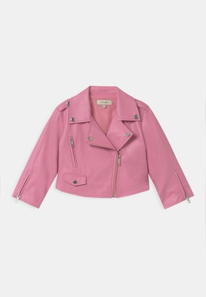 Faux leather jacket - rose bloom