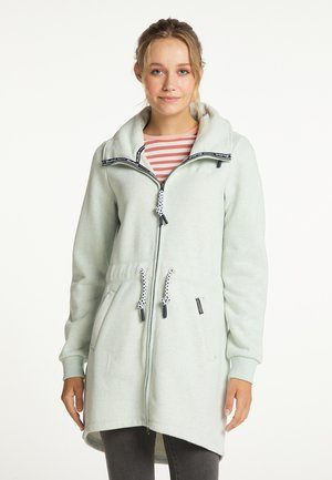 Short coat - mint melange