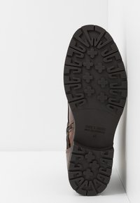 Jack & Jones - JFWMARSHALL - Lace-up ankle boots - cognac - 4