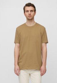 Marc O'Polo - Basic T-shirt - chestnut chocolate - 0