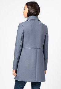 HALLHUBER - Classic coat - rauchblau - 1