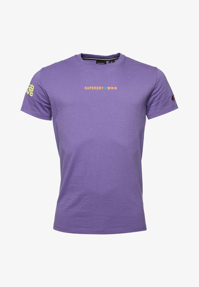 STYLE ENERGY - Print T-shirt - purple opulence