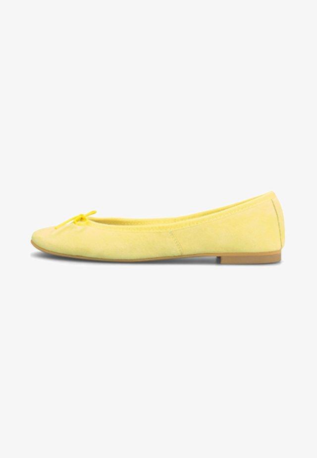 Ballet pumps - gelb