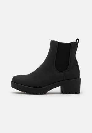KENNEDY GUSSET BOOT - Platform ankle boots - black
