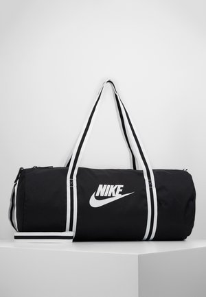 HERITAGE UNISEX - Sports bag - black/white