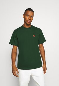 Carhartt WIP - SCORPIONS - Print T-shirt - bottle green/cinnamon - 0