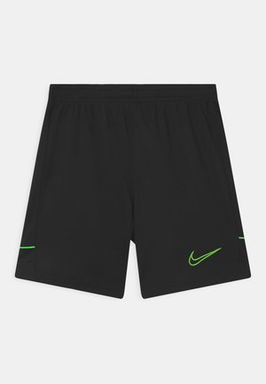 ACADEMY UNISEX - Sports shorts - black/green strike