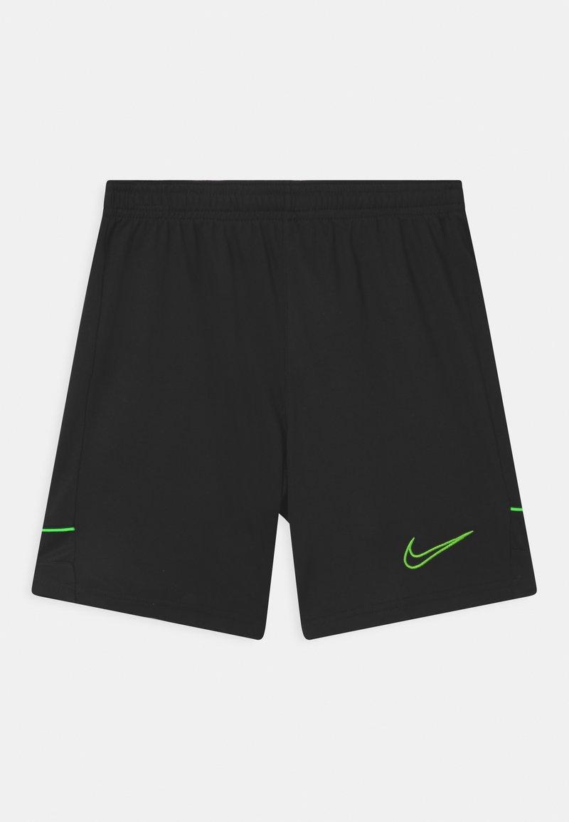 Nike Performance - ACADEMY UNISEX - Sportovní kraťasy - black/green strike