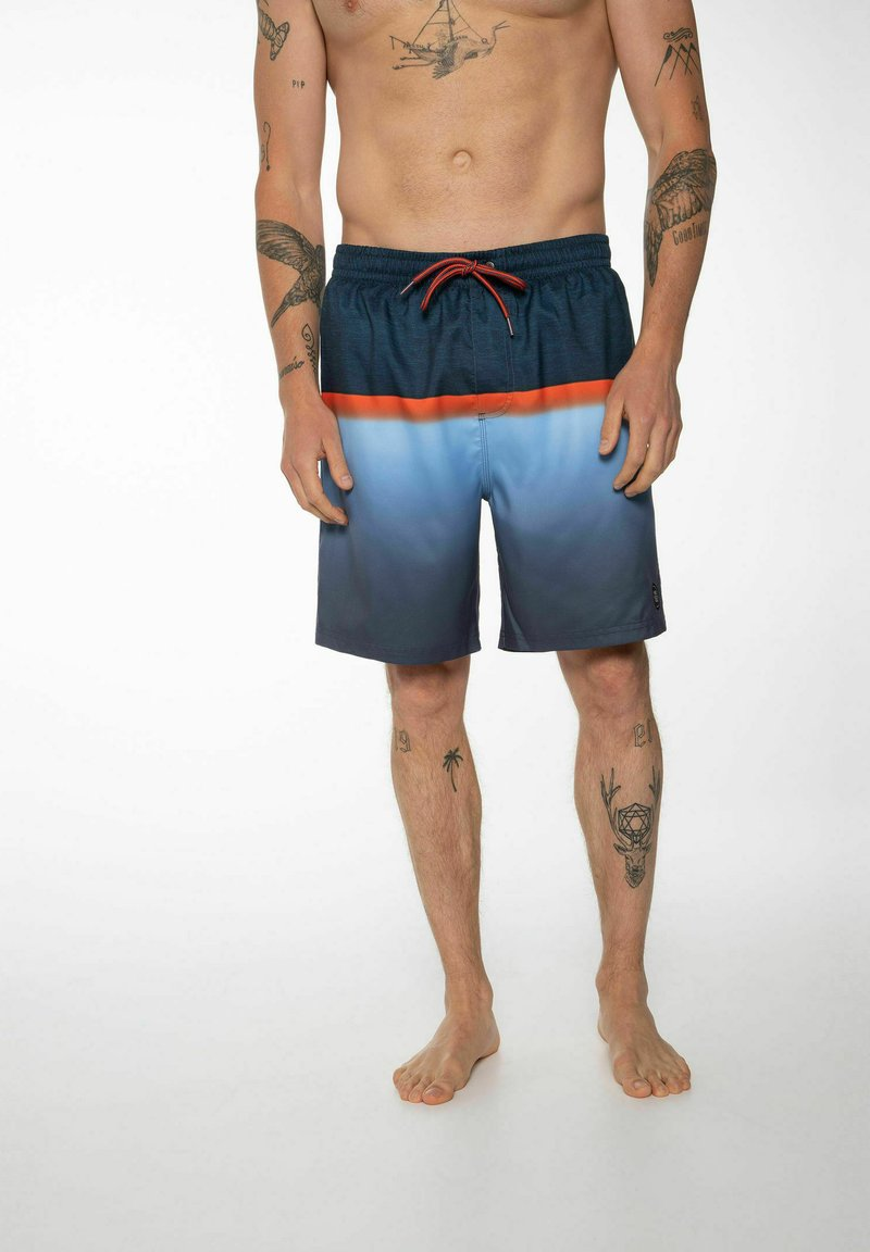 Protest - ERWIN - Swimming shorts - oxford blue