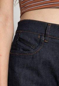 Diesel - D-AIR - Straight leg jeans - dark blue - 4