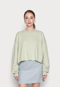 EDITED - RENATA SWEATER - Sweatshirt - desert sage green - 0