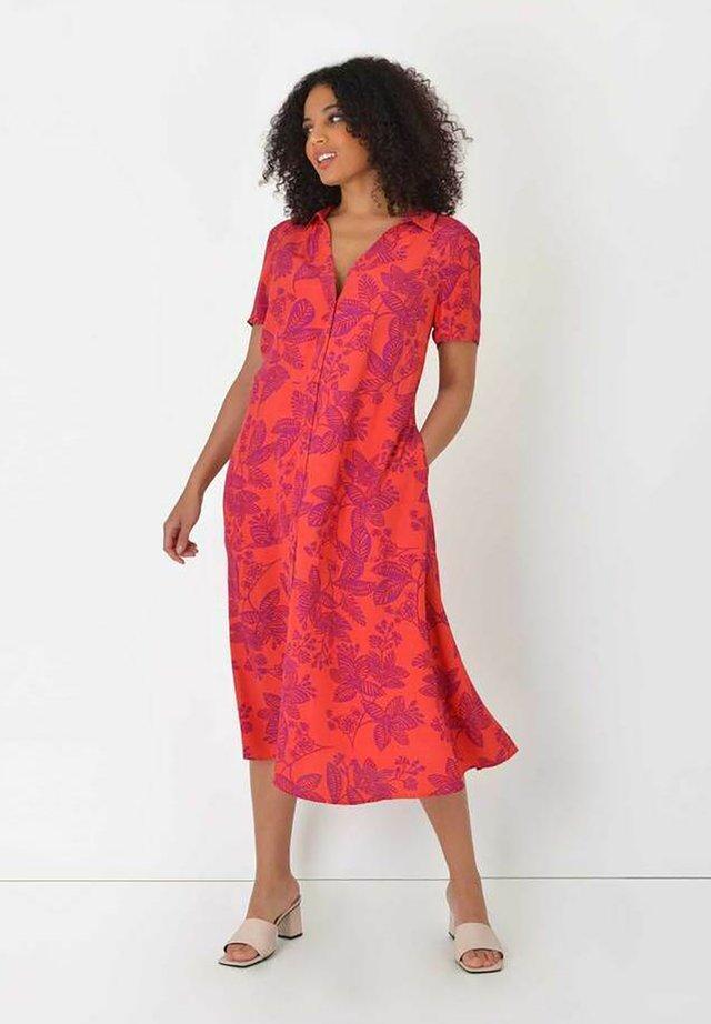 FLORAL  - Sukienka koszulowa - orange