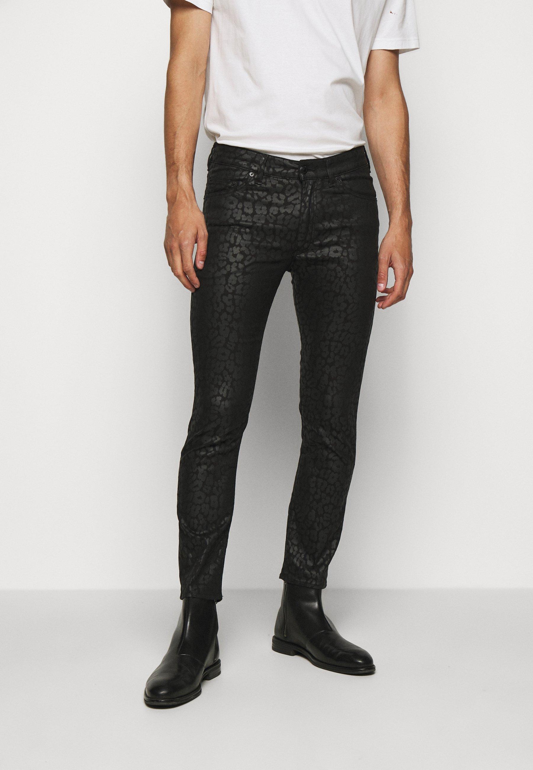 Uomo SLICK - Pantaloni - black