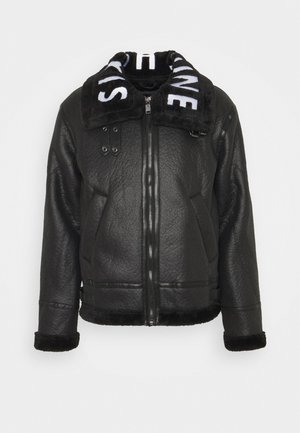 AVIATOR JACKET - Light jacket - black